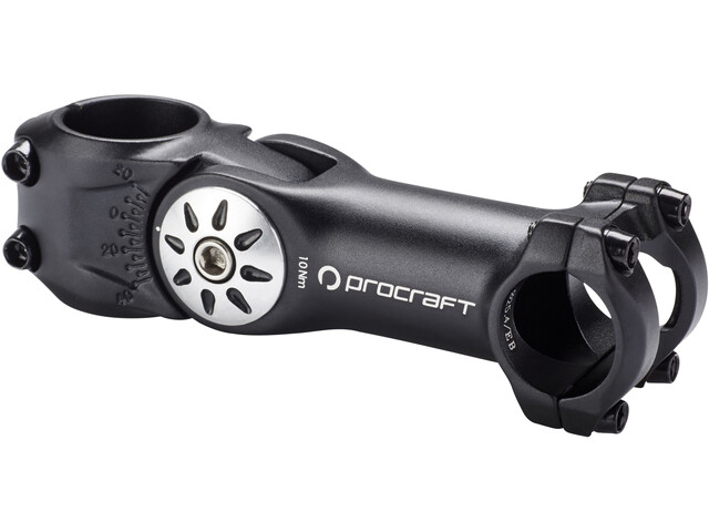 Procraft 4Bolt Adj. Ahead Stem Ø25,4 mm stangklemme black